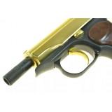 Охолощенный пистолет Макарова СХП золотой