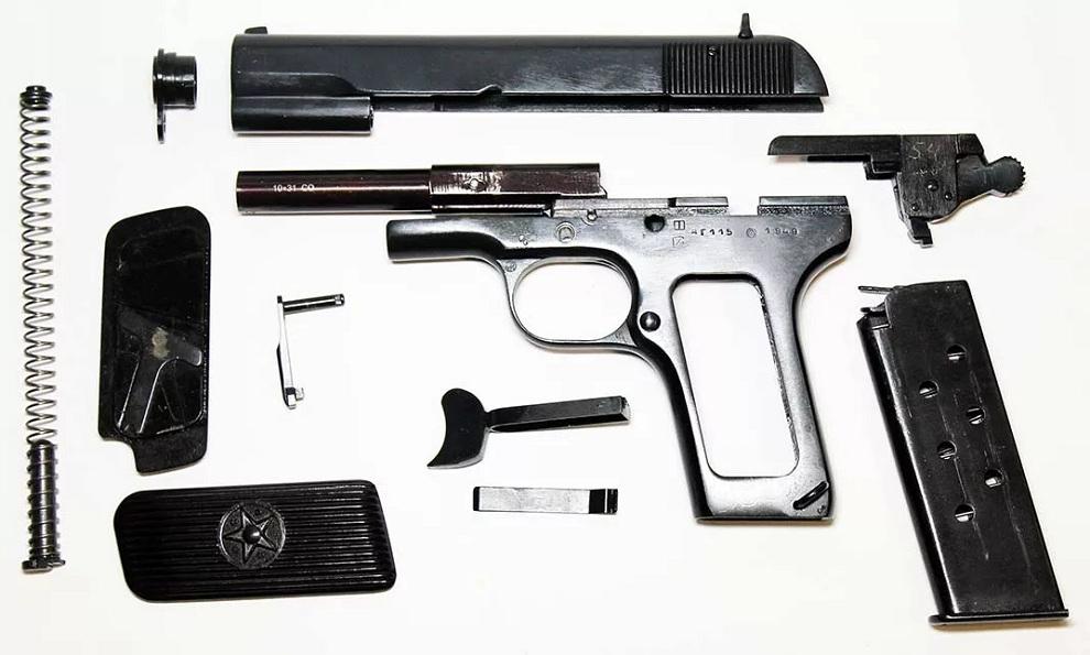 Охолощенный пистолет ТТ